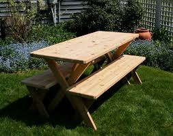 Red Cedar Octagon Walk In Picnic Table by 32