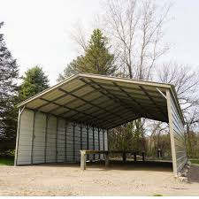 Garage With Carport Products Metal Carports Garages Barns Workshops For Sale