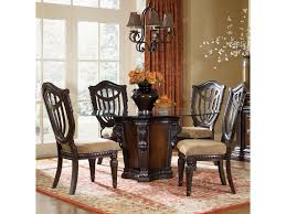 fairmont designs grand estates 5 piece dining table and chairs set