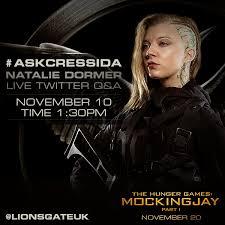 Natalie Dormer Fansite Lionsgate Uk To Host Twitter Q U0026a With Natalie Dormer And Sam