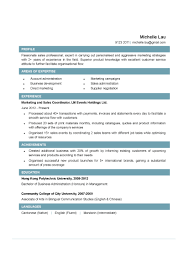 Sample Resume Objectives Business by Sales Coordinator Resume Objective Free Resume Example And
