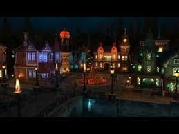 halloween village 4k youtube