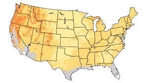 Frost Line Map Frost Free Season National Climate Assessment