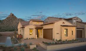 Summit at Pinnacle Peak Patio New Homes in Scottsdale AZ