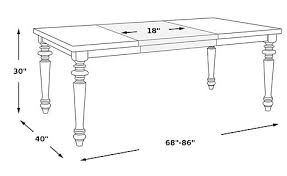 Champagne Dining Room Furniture Belle Terra Champagne Dining Table Rectangle Transitional