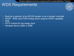 windows deployment services sysprep and you ppt video online