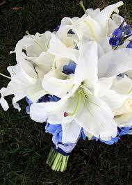 Blue Wedding Bouquets Blue Wedding Flower Guide