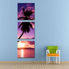 Canvas Painting For Home Decoration by Compare Prices On Tropical Beach Canvas Art Online Shopping Buy