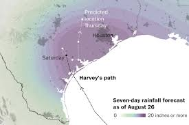 Map Of The Southeastern United States by Houston Flooding Map The Effect Of Harvey On Texas And Louisiana