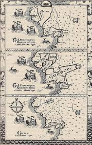 Lotr Map Are The Maps At The Beginning Of Each Lotr Book Hand Drawn By