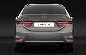 toyota corolla in india price toyota corolla altis facelift revealed before debut india launch