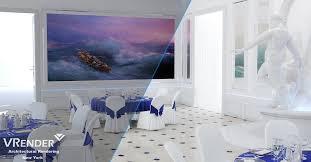 interior rendering color correction