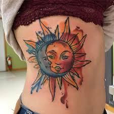 vibrant watercolors stunning sun and moon ideas livingly