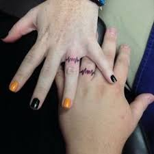best ring finger tattoos ring finger for couples