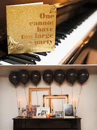black and gold party decorations high style black gold birthday party hostess with the mostess