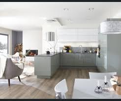 cuisine sejour cuisine salon sejour blanc beige naturel vert cata contemporain