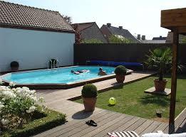 Inground Pool Ideas Semi Inground Pools Rideau Pools Semi Inground Pools