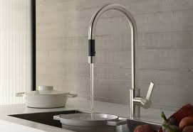 decorating nice dornbracht kitchen faucet with updown handle and
