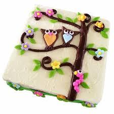owl cake tree owl cake kit birthday cake recipe kit diy kit