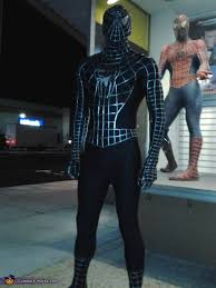 black spiderman halloween costume photo 6 10