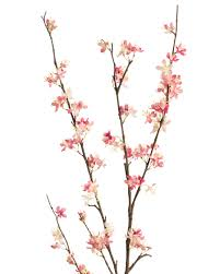 stem flowers blossom silk flower stems for casual decorating at petals