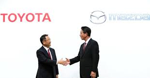 products of toyota company toyota mazda denso to tie up to develop electric vehicles