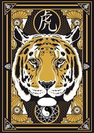 yin yang horoscope tiger on behance