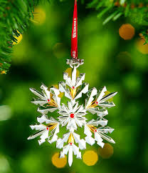 waterford 2017 silver annual snowflake ornament dillards