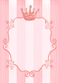royal party invitation background could also work for signage