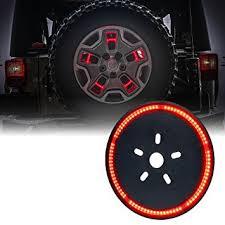 3rd brake light led ring suparee 3rd spare tire brake light led ring amazon co uk car