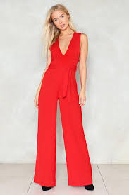plunging jumpsuit zero hour plunging jumpsuit shop clothes at gal