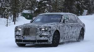 2018 rolls royce phantom spied with short u0026 long wheelbases