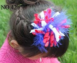 fourth of july hair bows festival hair bows janebao