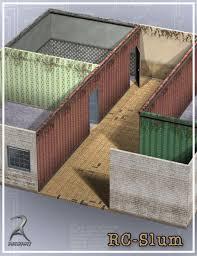 room creator room creator slums 3d models and 3d software by daz 3d