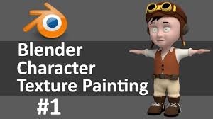 blender character texture painting 1 of 6 youtube