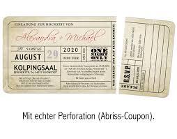 vintage einladungskarten zur hochzeit u2022 eintrittskarte u2022 ticket