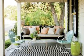 Small Outdoor Rug Charming Small Porch Swing Ideas You Will Decohoms