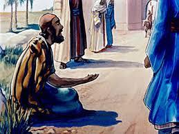 Was Bartimaeus Born Blind Blind Bartimaeus Receives His Sight Mark 10 46 52 Pilgrim At