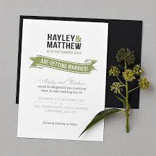 invitation wedding incridible original baker wedding invitation set on wedding