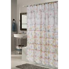 Beaded Curtains At Walmart by Pink Butterfly Shower Curtain Extra Long 84 Inch Walmart Com