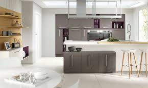 coloured fitted kitchens unit doors matt dakkar units ivory island