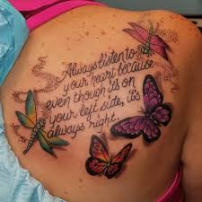 vibes with butterfly and quote blurmark