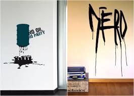 wandtattoos jugendzimmer die besten 40 coole wandtattoos fürs jugendzimmer im graffiti look