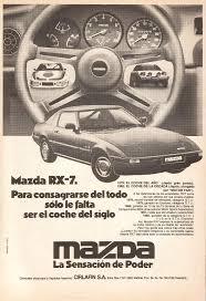 mazda argentina oficial mazda rx 7 una cupé con motor wankel autos y motos taringa