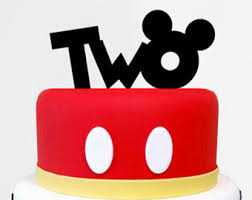 mickey mouse cake mickey mouse cake topper birthday one cake topper mickey
