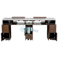 manicure tables with ventilation double nail table built in ventilation system