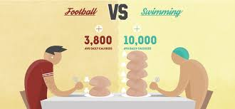 how much food do swimmers really need to eat