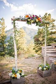 wedding arch log wedding arbors rustic finding wedding ideas