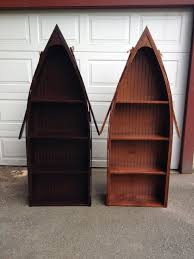 Canoe Bookcase Furniture Adirondack Furniture By Adk Rustic Interiors Specializing In Log