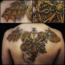 30 awesome steampunk tattoo designs steampunk tattoo design